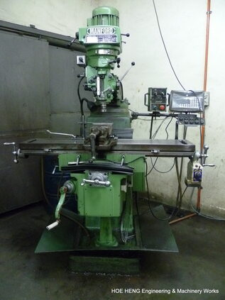 Conventional Milling Machine - 3 units